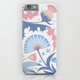 knapweed and dandelion iPhone Case
