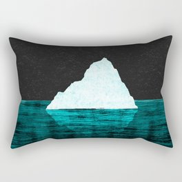 ICEBERG AHEAD! Rectangular Pillow