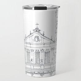 Basilica di Santa Cecilia in Trastevere Travel Mug