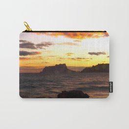 Fine Art Photograph - Spanish Sunset -The dramatic sunset on the West coast of Spain. Carry-All Pouch