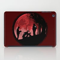 true detective iPad Cases featuring True Detective - Horrors of life by kamonkey