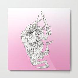 Escarabajo  Metal Print
