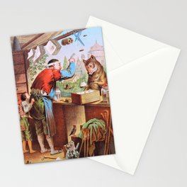 Carl Offterdinger - The Wolf And The Seven Young Kids - Digital Remastered Edition Stationery Cards