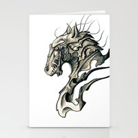 horse Stationery Cards featuring Horse by Nuam