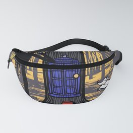 Tardis Art Wood And The Jack Fanny Pack
