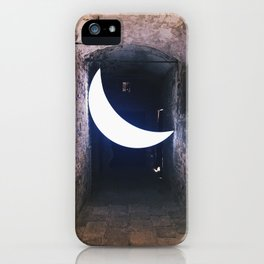 Dance by the light of the moon iPhone Case
