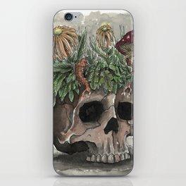 Skull Garden iPhone Skin