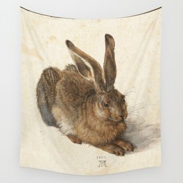 Young Hare Wall Tapestry