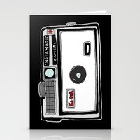 cameras Stationery Cards featuring Cameras by Josh Ross