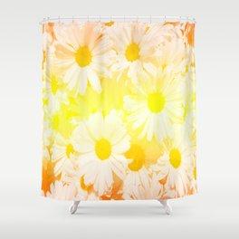 Sunshine Daisies Shower Curtain
