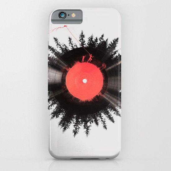 The vinyl of my life iPhone & iPod Case