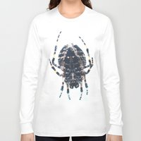 spider Long Sleeve T-shirts featuring Spider by Bor Cvetko
