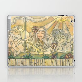flower children Laptop & iPad Skin