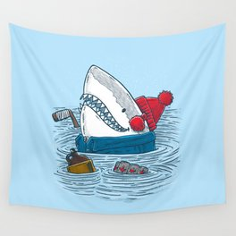 Great White North Shark Wall Tapestry