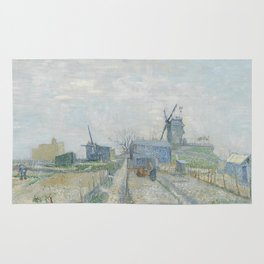 Montmartre: Windmills and Allotments Rug
