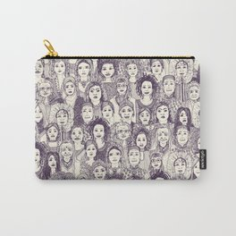 WOMEN OF THE WORLD PURPLE Carry-All Pouch