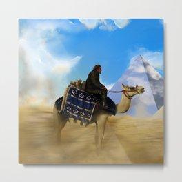 Desert Dweller Revelation Metal Print