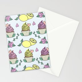 Time For Cupcakes! Stationery Cards