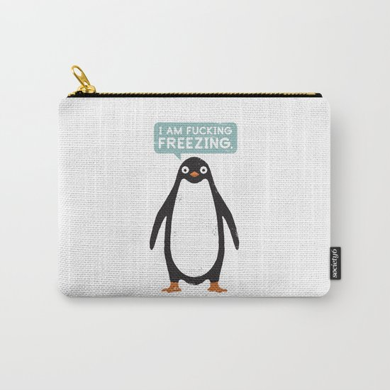Talking Penguin Carry-All Pouch