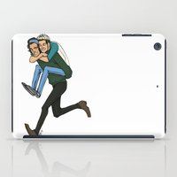 niall iPad Cases featuring Harry and Niall by Ashley R. Guillory