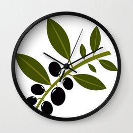 olives Wall Clock