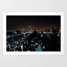 Night Tour Art Print