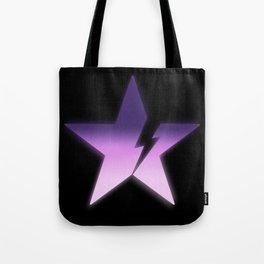 Black star bold Tote Bag