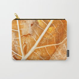 Burning Bokeh Leaf Carry-All Pouch