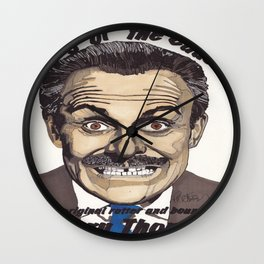 Terry Thomas Wall Clock
