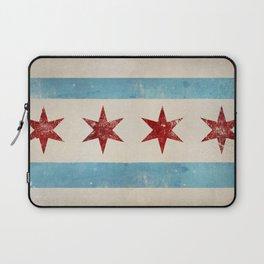 Chicago Flag Laptop Sleeve