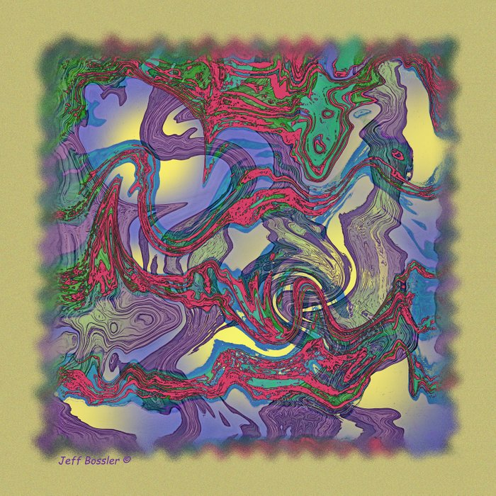 DRAGON WATER ABSTRACT Comforters