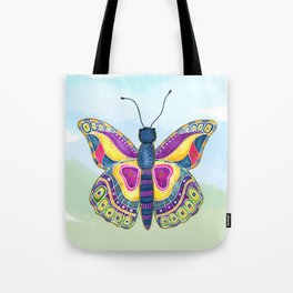 Butterfly III on a Summer Day Tote Bag