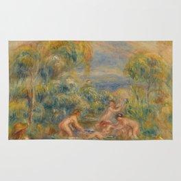 "Auguste Renoir ""Étude de baigneuses"" Rug"