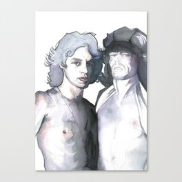MICK & KEITH Canvas Print