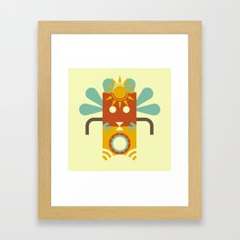 Tiki Tiki Framed Art Print