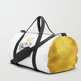 Queen Bee Funny Quote Duffle Bag