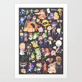 (SSB) THE WINNER IS... Art Print