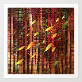 Jungle Breeze Art Print