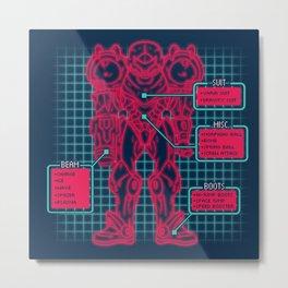 Varia Suit Metal Print