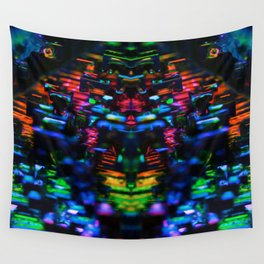 Alien Language 4 Wall Tapestry