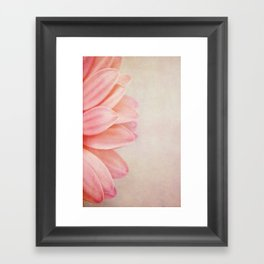 Pretty in Peach Framed Art Print