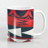 new zealand Mugs featuring NEW ZEALAND by K. Ybarra/FotoHAUS
