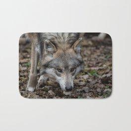 Mexican Gray Wolf Bath Mat