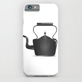 Victorian Black Kettle iPhone Case
