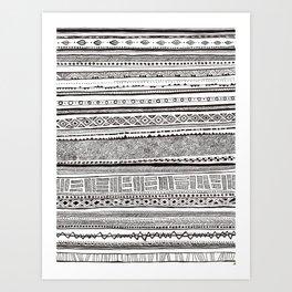 Analogue Art Print