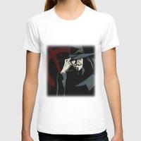 vendetta T-shirts featuring V for Vendetta (e1) by Ezgi Kaya