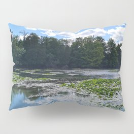 Lake With Lily Pads Pillow Sham