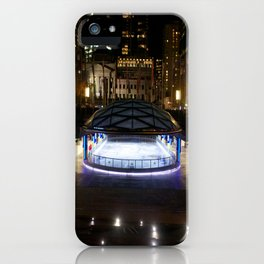 Skating rink Vancouver iPhone Case