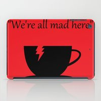 mad iPad Cases featuring Mad by Crystal Granlund