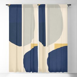 Minimalist Abstract 11 Blackout Curtain